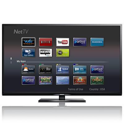 "58"" Philips LED 1080p Smart HDTV w/ Wi-Fi"