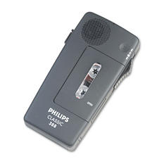 Philips - Pocket Memo 388 Slide Switch Mini Cassette Dictation Recorder