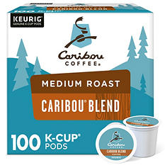 Caribou Coffee Signature Blend (100 K-Cups)