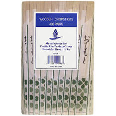 Wooden Chopsticks - 400pairs