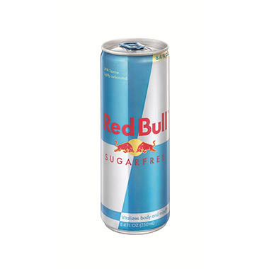 Red Bull Sugar Free Energy Drink, 8.4oz. (4pk.)