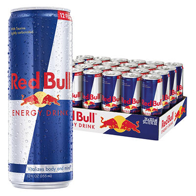 Red Bull Energy Drink - 12 oz. - 24 pk.