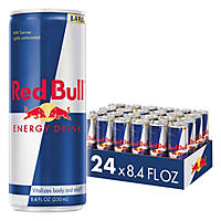 Red Bull Energy Drink, 8.4 oz. (24 pk.)