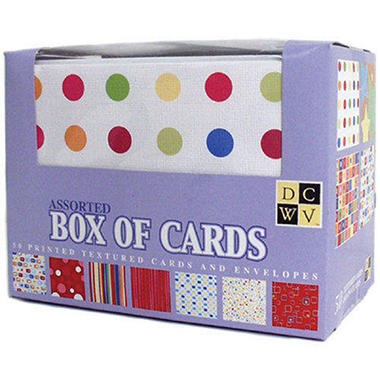 Box Of Cards With Envelopes A2 4.25