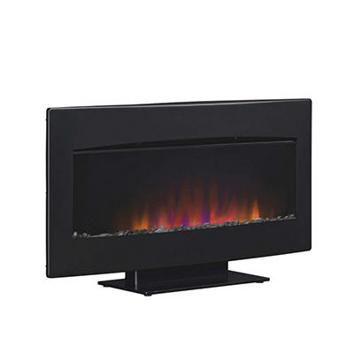 Twin-Star Classic Flame Wall Hanging Fireplace with Heater