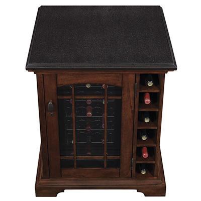 """18"""" Wine Cooler in Cherry"""