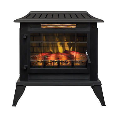 Twin Star International Infragen 3d Electric Fireplace Stove With Safer Plug Sam 39 S Club