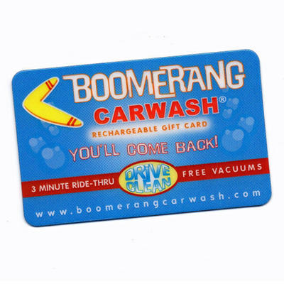 Boomerang $50 Gift Card for $39.98