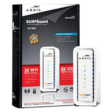 ARRIS SURFboard SBG6700-AC Gateway Docsis 3.0 Cable Modem & AC1600 Wi-Fi Router