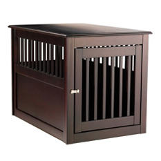 Berkshire Comfort  End Table Pet Den, Espresso