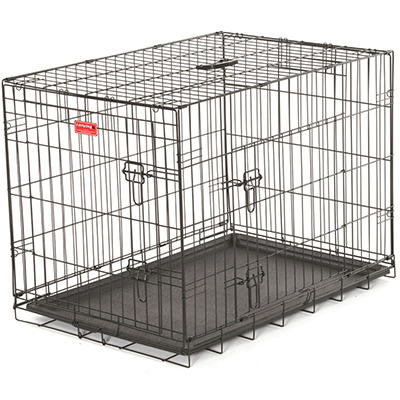 "Lucky Dog 24"" L Training Crate, 2-DR"