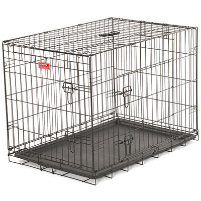 "Lucky Dog 30"" L Training Crate, 2-DR"
