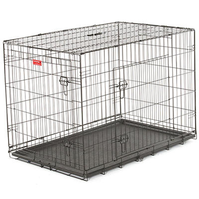 "Lucky Dog 42"" L Training Crate, 2-DR"