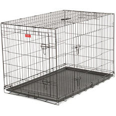 "Lucky Dog 48"" L Training Crate, 2-DR"