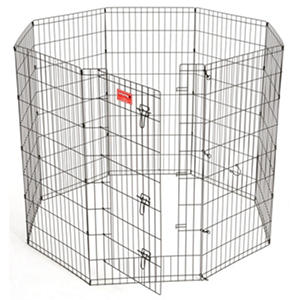 "Lucky Dog 48"" H Heavy Duty Exercise Pen with Stakes"