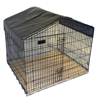 "Lucky Dog Travel Kennel - 40""L x 40""W x 36""H"