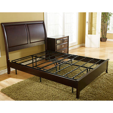 Classic Dream Metal Bed Frame/Box Spring Replacement, Queen