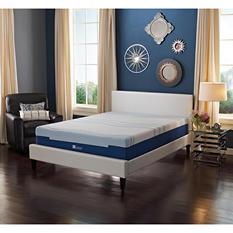 "Lane Sleep Lux 12"" Medium Support Gel Flex Engineered Latex Foam Mattress, Twin XL"