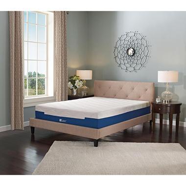 Lane Sleep Lux 7 Quot Firm Memory Foam Mattress Cal King