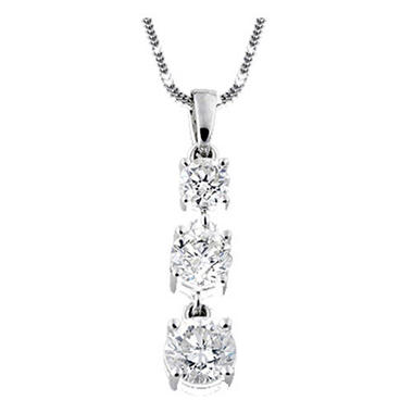 1.45 ct. t.w. Diamond Pendant
