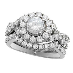 2.00 ct. t.w. Diamond Ring Set in 14K White Gold  I,I1 (IGI Appraisal Value: $3,575)