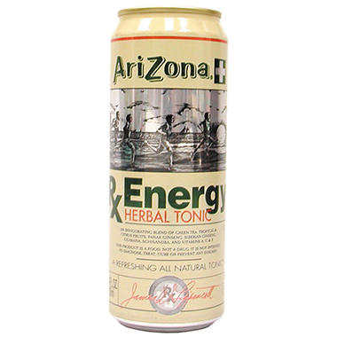 Arizona Tea Rx Energy (23 oz., 24 ct)