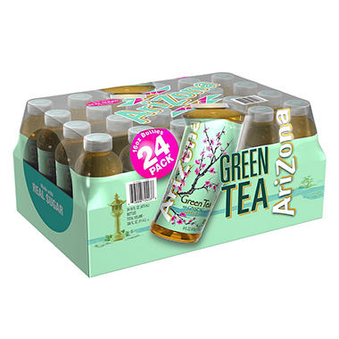 Arizona Green Tea - Ginseng and Honey  - 24/ 16 oz.