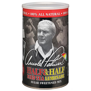 Arnold Palmer Half & Half Mix - 1/2 Tea and 1/2 Lemonade - 76.8 oz. canister