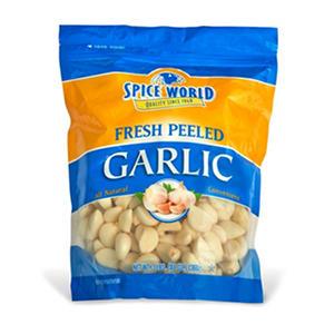 Spice World Peeled Garlic - 3 lbs.