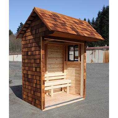Signature 6' x 3' Bus Chalet Shed Kit