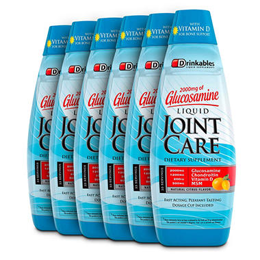 Drinkables Joint Care - 6 ct.