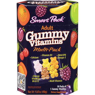 Smart Pack? Adult Gummy Vitamin Multi-Pack - 5 ct. - 30 pk.