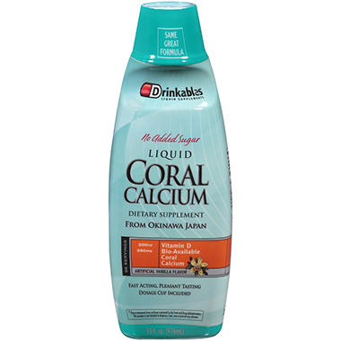 Drinkables® Liquid Coral Calcium Dietary Supplement - 33 fl. oz.