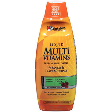 Drinkables� Multi Vitamins - 33 oz.