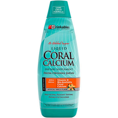 Drinkables® Ultimate Coral Calcium - 6 pk./33 oz.