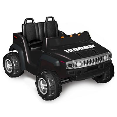 12V 2-Seater Hummer H2 - Black