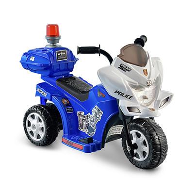 6V Lil Patrol - Blue & White