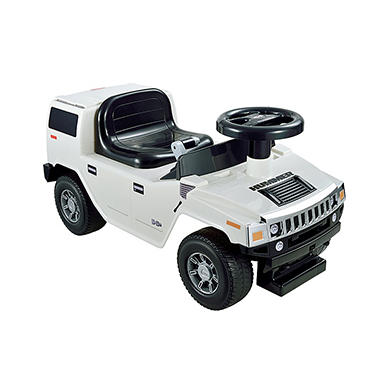 Hummer H2 Foot to Floor - White