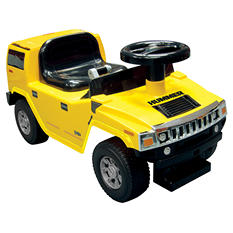 Hummer H2 Foot to Floor - Yellow