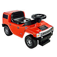 Hummer H2 Foot to Floor - Red