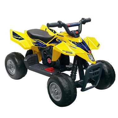 6V Yellow Suzuki Quad Racer