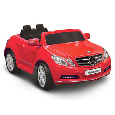6V 1-Seater Mercedes Benz E550 - Red