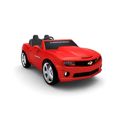 12V Chevrolet Camaro Ride-On - Red