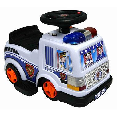 6V Police Patrol Ride-On