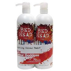 TIGI Bed Head Shampoo/Conditioner, Colour Goddess or Dumb Blonde