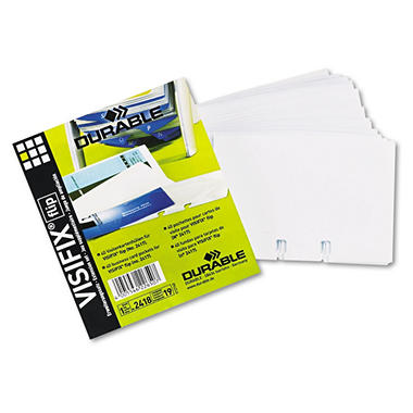 Durable® TELINDEX® Business Card Sleeves