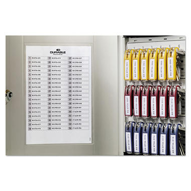 Durable® Locking Key Cabinet