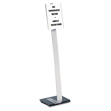 Durable - Info Sign Duo Floor Stand