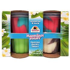Samurai Hawaiian Frost Frozen Dairy Treat, Variety Pack (8 pk.)