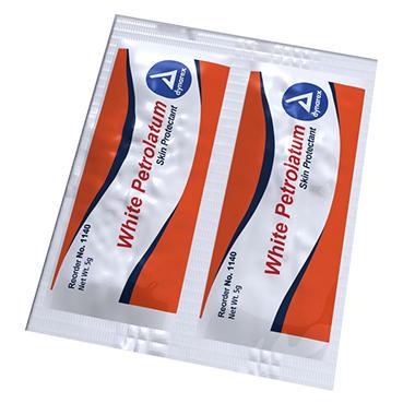 White Petrolatum - 0.5g Packets - 864 ct.